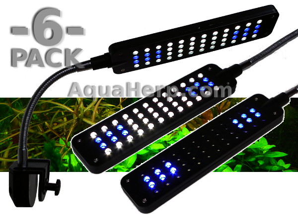 Aquarium Light LED Nano 3W / 6-PACK