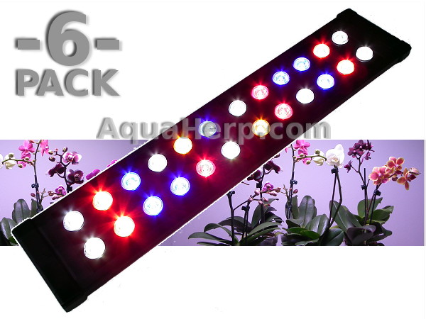 LED Grow Light Daylight-C GROW 50cm 20W / 6-PACK