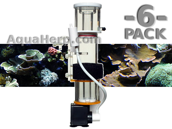Aquarium Protein Skimmer Eco Mini 1100 l/h / 6-PACK