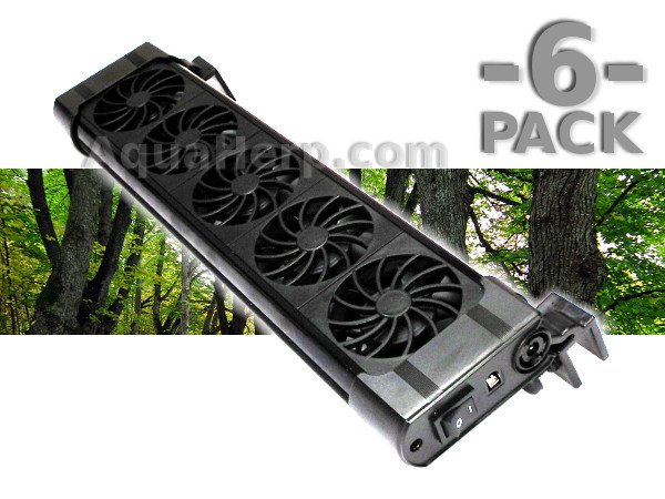 Cooling / Ventilation Fan Unit (5 fans) / 6-PACK