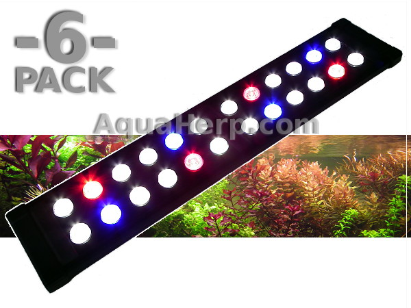 LED Aquarium Light Daylight-C TROPICAL 50cm 20W / 6-PACK