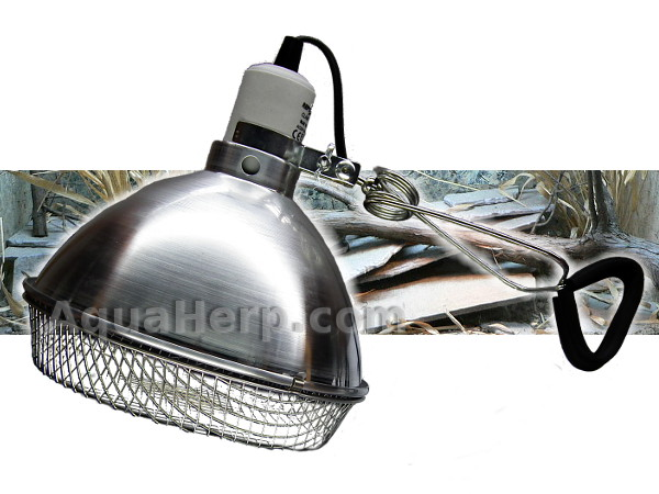 "Terrarium Clamp Lamp E27 150W 8½"" + Basket"