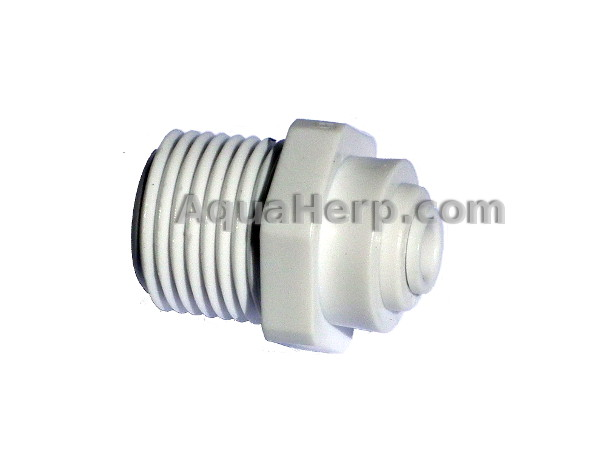 "RO-connector 1/2"" MALE"