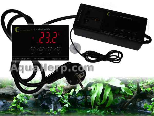 Terrarium Thermostat Cool/Heat -40C°- +110C°