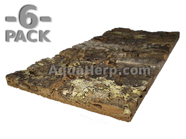 Virgin Cork Bark Tile 60*30cm / 6-PACK