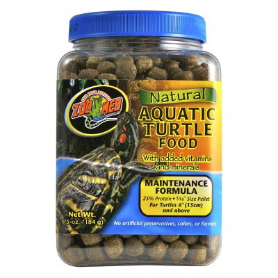 Zoomed Natural Aquatic Turtle Food Maintenance 340g